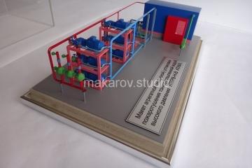 Модель Станция Пожаротушения