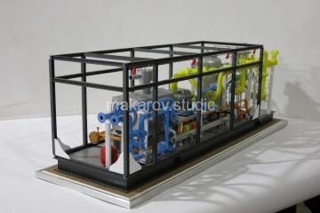 Модель Компрессорной станции