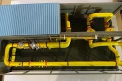 Модель Газовой Подстанции